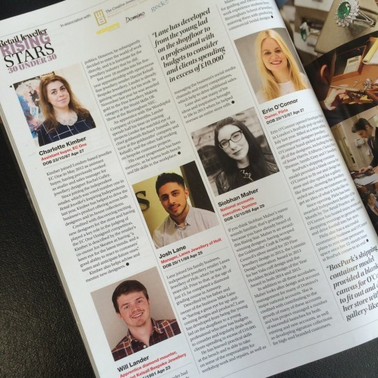Retail Jeweller Rising Stars Under 30