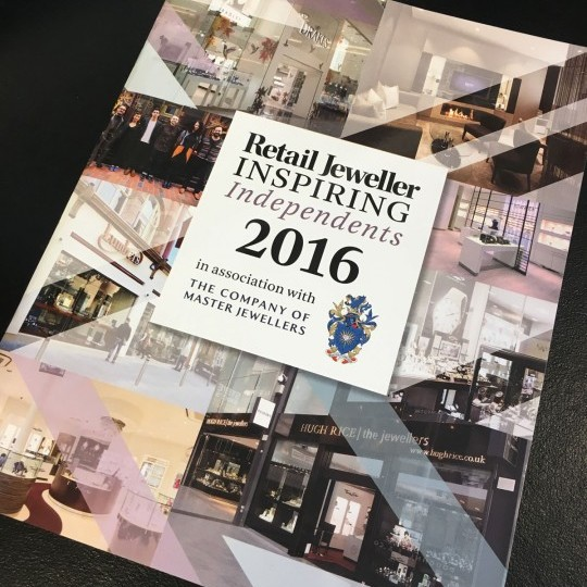 Retail Jeweller Inspiring Independents 2016