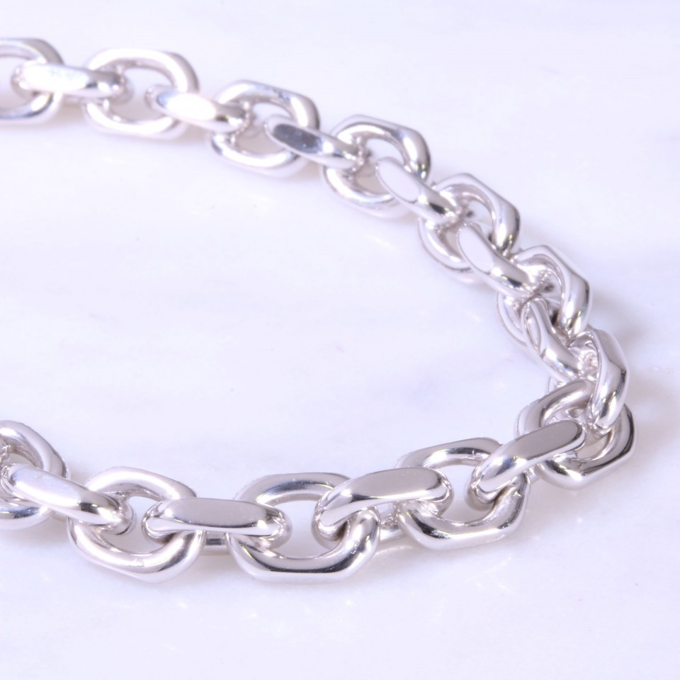 Diamond Cut Belcher Bracelet