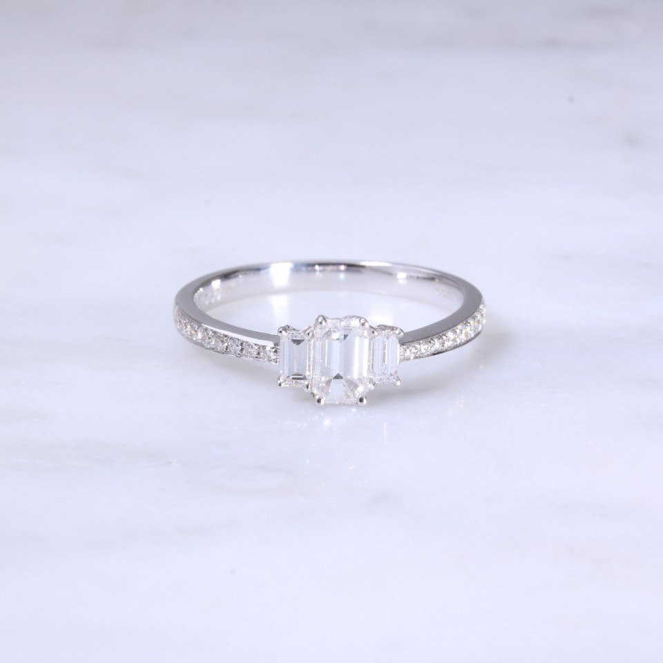 Pear Shape Solitaire Engagement Ring
