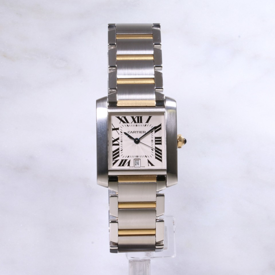 Cartier Tank Francaise W51005Q4 Steel & Gold