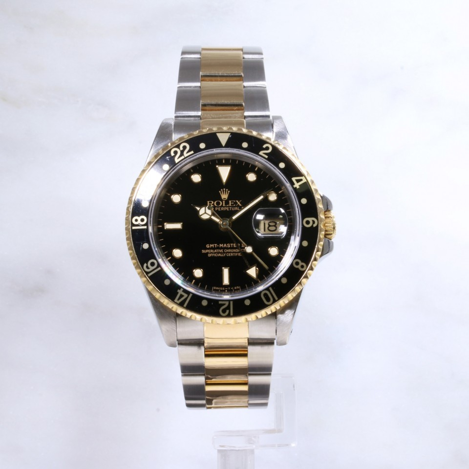 Rolex GMT - Master 2 16713 Steel & Gold
