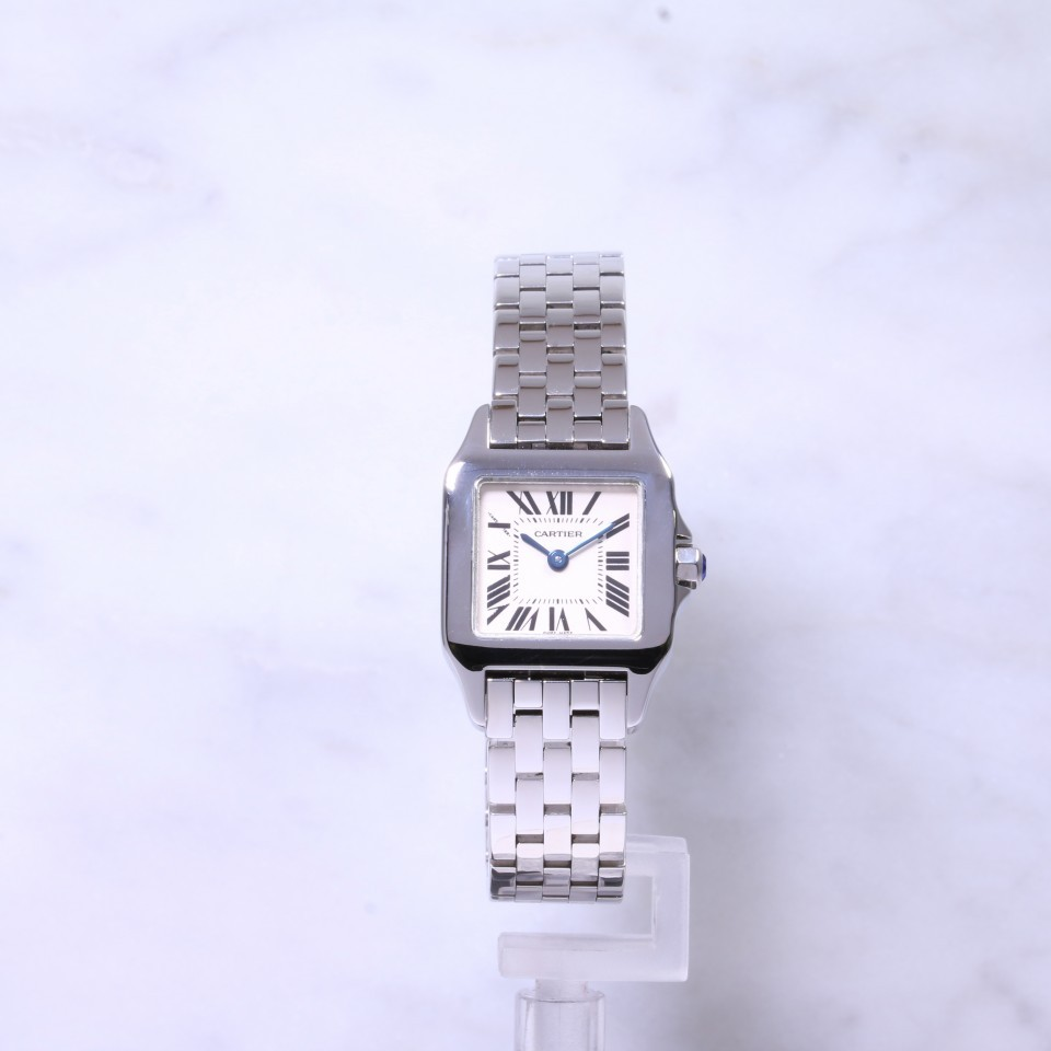 new styles 5e7ae ad5f5 Cartier Santos Demoiselle Steel W25064Z5 | Lanes Jewellery ...