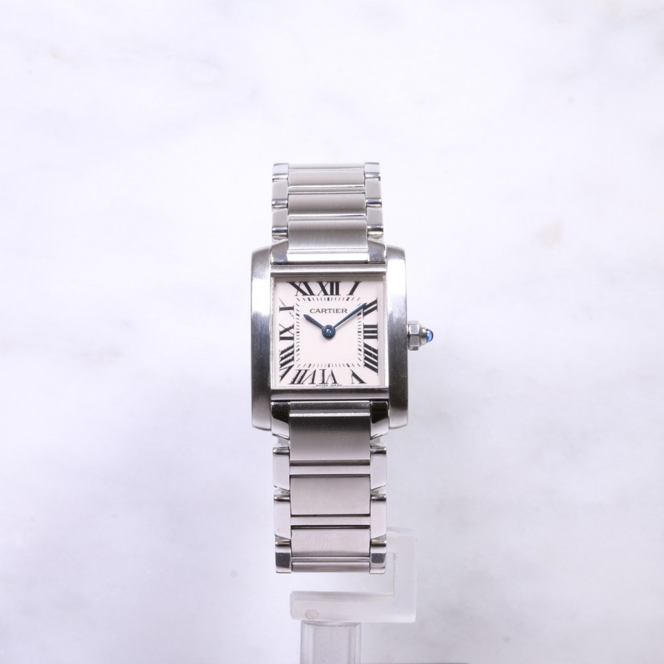 Ladies Cartier Tank Francaise Steel W51008Q3