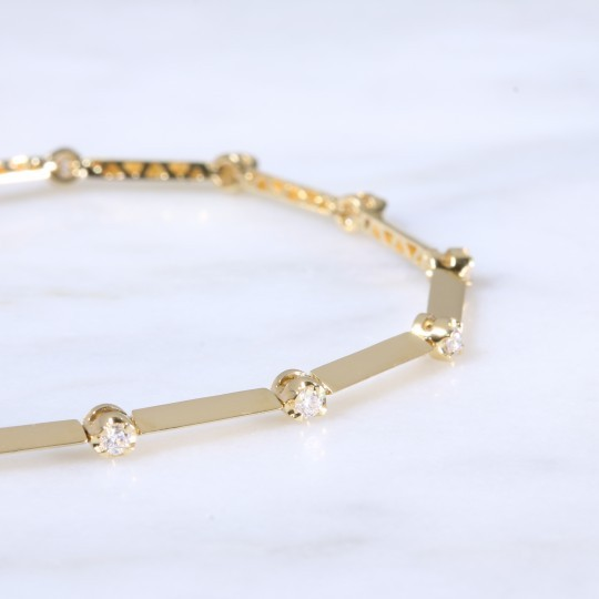 Diamond Dot Bracelet 0.46ct