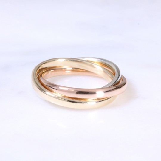 9ct 2mm Russian Wedding Ring