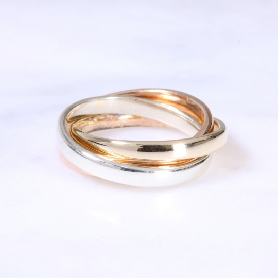 9ct 2.5mm Russian Wedding Band