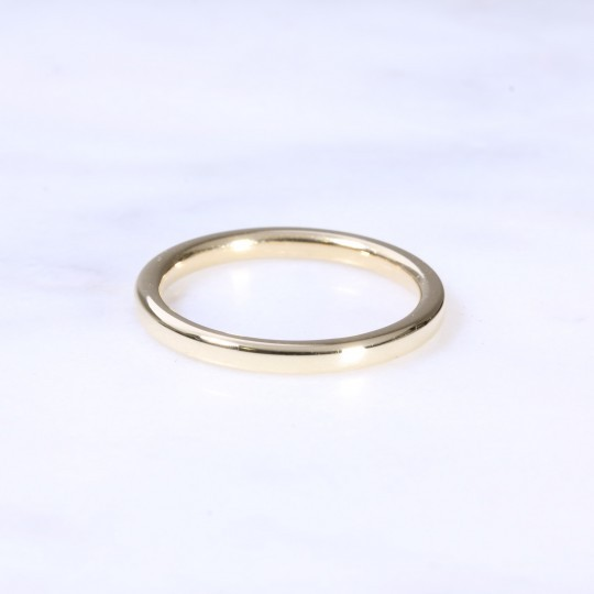 18ct 2mm Court Wedding Ring