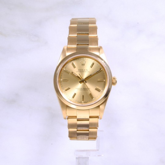 Rolex Oyster Perpetual 14208 18ct gold