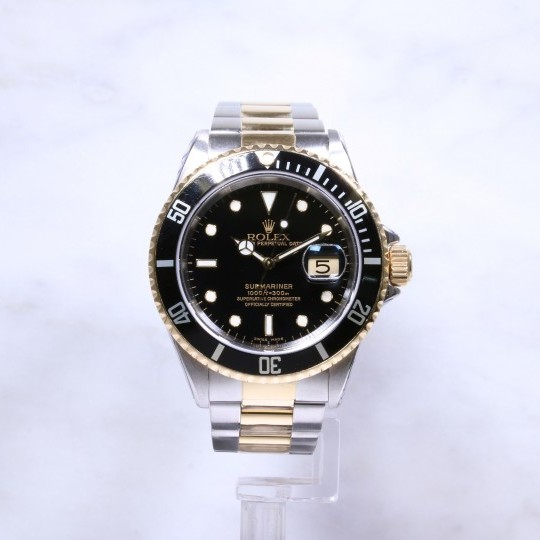 Rolex Submariner Date Steel & Gold 16613