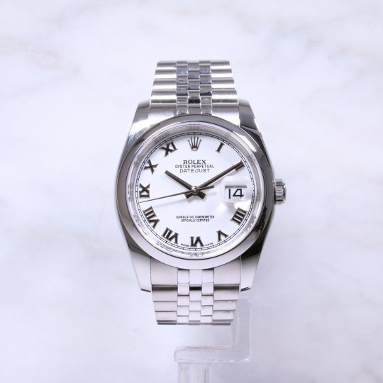 Rolex Datejust 36mm 116200 White Dial