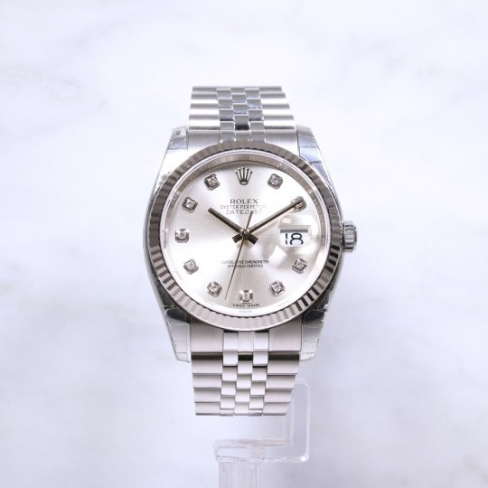 Rolex Datejust 116234 Diamond Dial Unworn