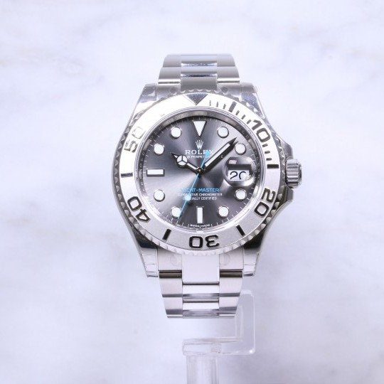 Rolex Yacht-Master 40 116622 Rhodium Dial Factory Stickers