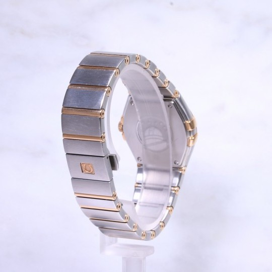 Omega Contellation Midsize Steel & Rose Gold 12320276057002