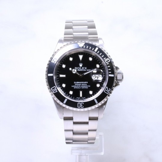 Rolex Submariner Date 16610 Steel
