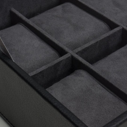Stackable 6 Piece Watch Tray With Lid 309603