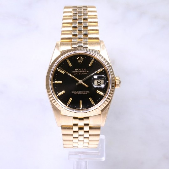 Rolex Datejust 36mm 16238 18ct Gold