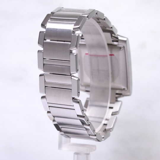 Large Cartier Tank Francaise Steel Watch W51002Q3