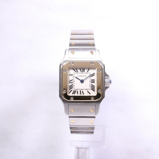 Ladies Cartier Tank Francaise Steel & Gold W20012C4