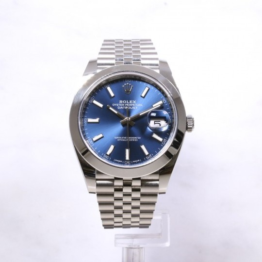 Rolex Datejust 41mm Blue Dial 126300