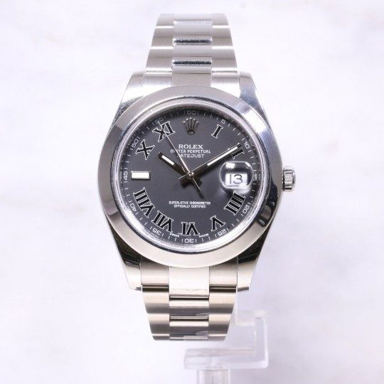 Rolex Datejust 2 Grey Dial 116300