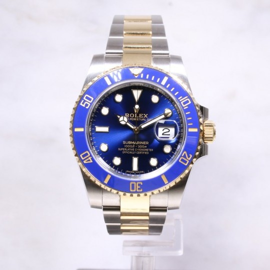 Rolex Submariner Blue Steel & Gold 116613LB