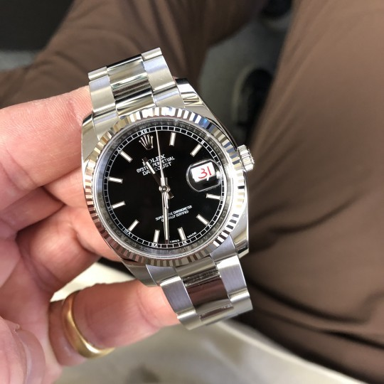 Rolex Datejust 36mm Steel 116234