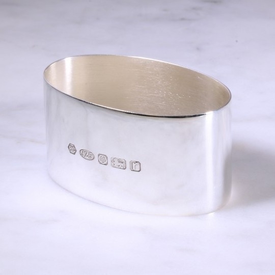 Carrs Oval Napkin Ring
