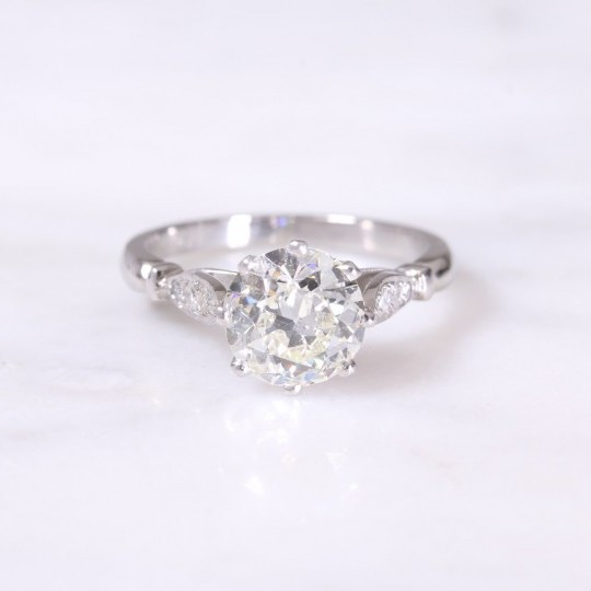 Old Cut Diamond Vintage Style Ring