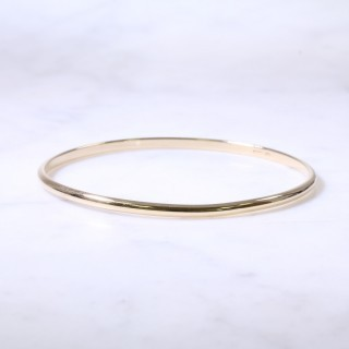Lanes Solid D Shape Bangle