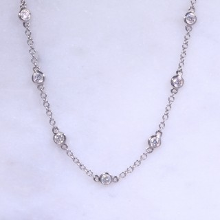 Lanes 1 Carat of Diamonds Necklace