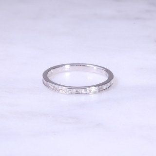 Channel Set Diamond 1/2 Eternity Ring