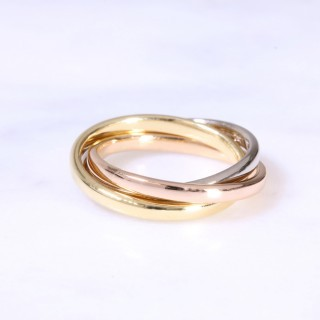 18ct 2mm Russian Wedding Ring