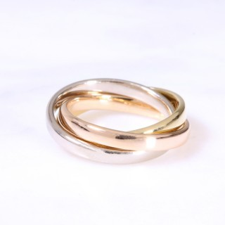 18ct 2.5mm Russian Wedding Ring