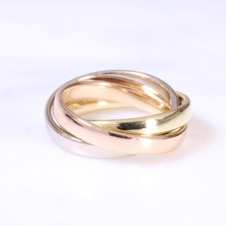 18ct 3mm Russian Wedding Ring