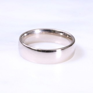 18ct 6mm Court Wedding Ring