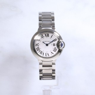 Cartier Ballon Bleu 28mm W69010Z4 Steel