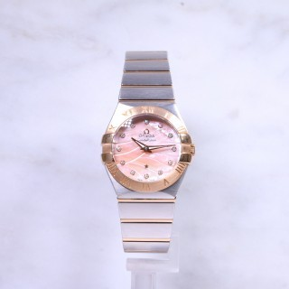 Omega Constellation Midsize Steel & Rose Gold