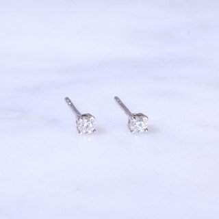 Diamond Ear Studs 0.15ct