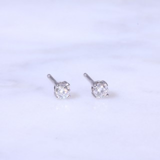 Diamond Ear Studs 0.30ct
