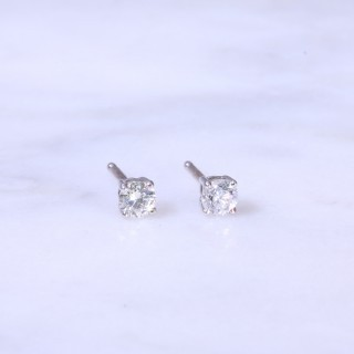 Diamond Ear Studs 0.40ct