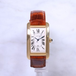 Cartier Tank Americaine 18ct Gold W2603156