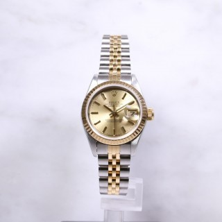 Ladies Rolex Datejust 69173 Steel & Gold