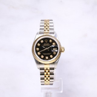 Rolex Datejust Steel & Gold 69173