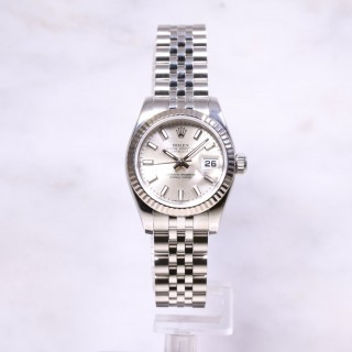 Rolex Datejust 26mm 179174 Fluted Bezel
