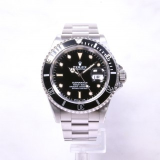 Rolex Submariner Date Steel 16610 Full set